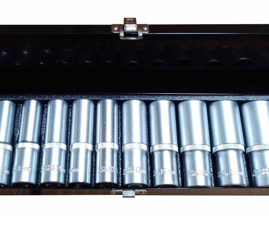 """TM 13 Stück 1/2 """"Long Impact Socket Set"""