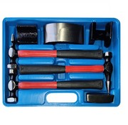 TM TM 7 Piece Hammer Dent Removal Set with Anti Slip Fiber Glass Stems