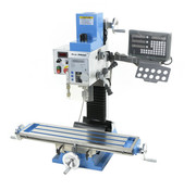 TM TM BF 30 Milling Machine Large Table V2 with SINO 3 axis digital readout system