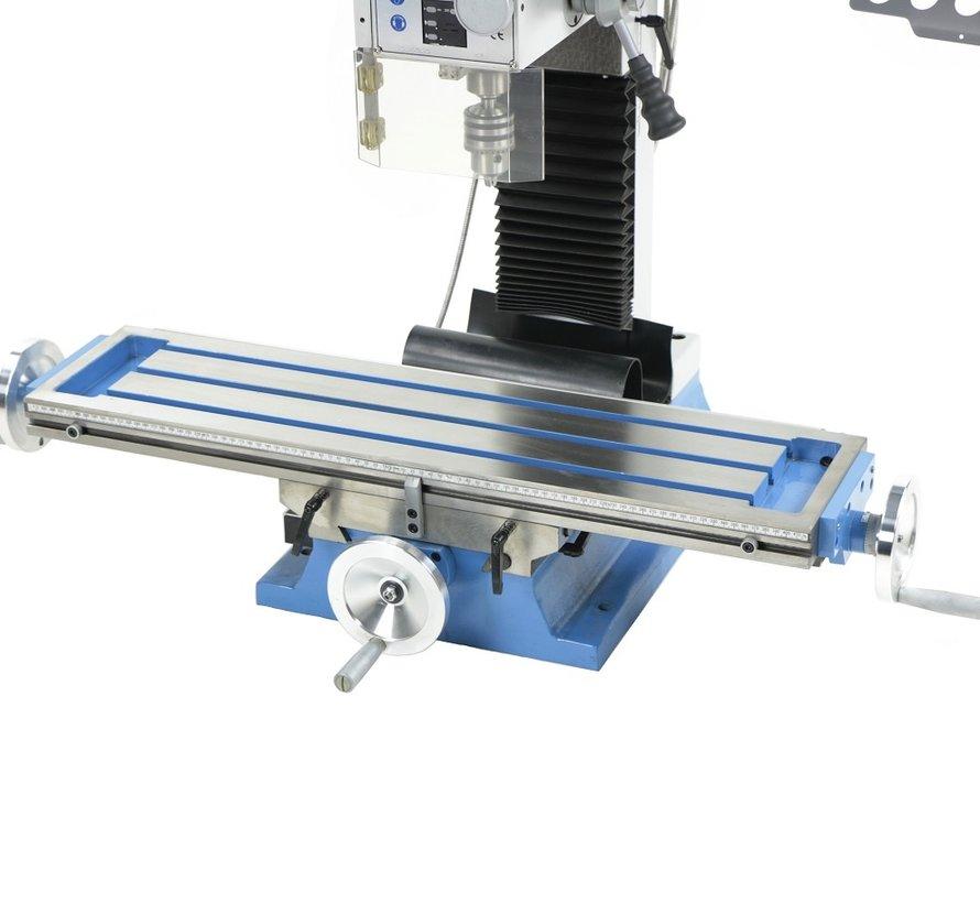 TM BF 30 Fräsmaschine Großer Tisch V2 mit digitalem SINO 3-Achsen-Auslesesystem