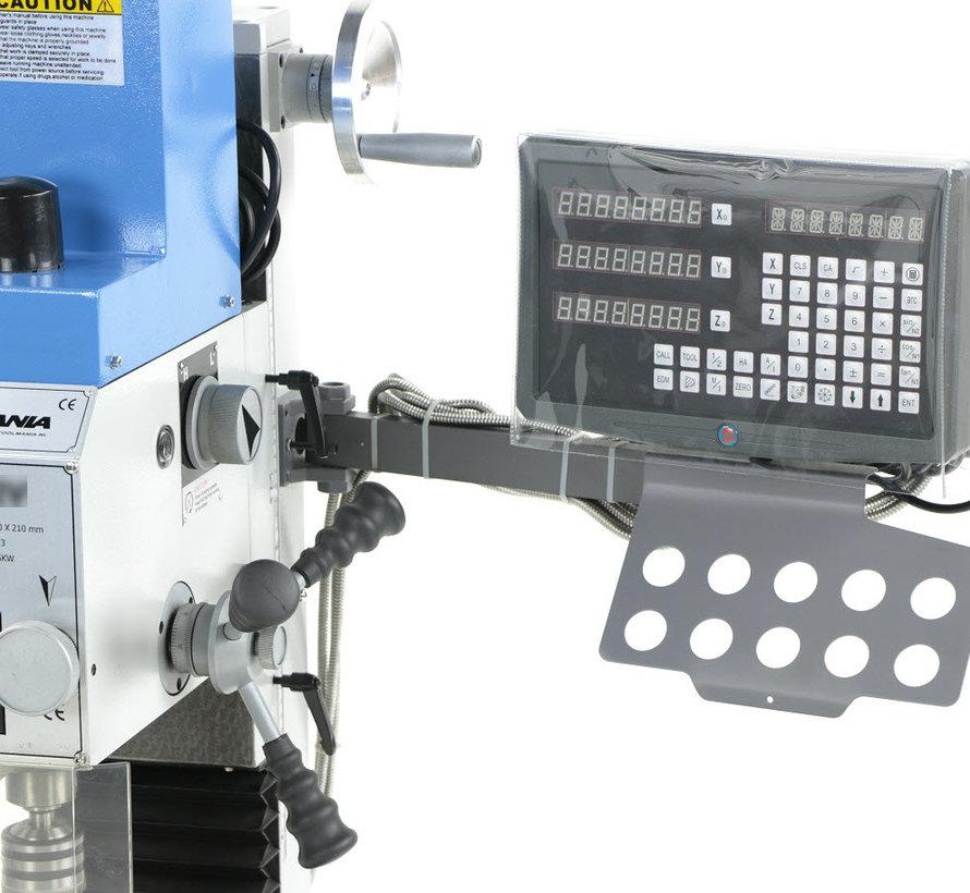 TM BF 30 Freesmachine Grote Tafel V2 met SINO 3 assig digitaal uitleessysteem