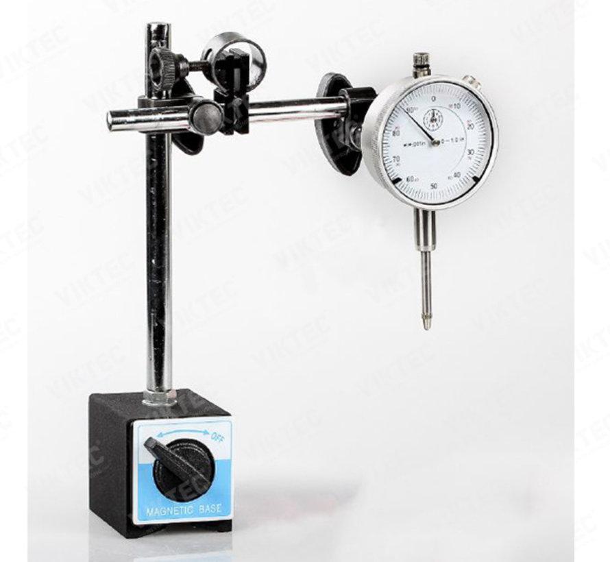 TM Analoger magnetischer Uhrenständer mit Messuhr