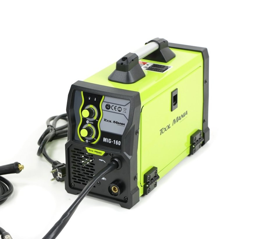 TM MIG - 160 Welding machine with Digital Display and IGBT Technology
