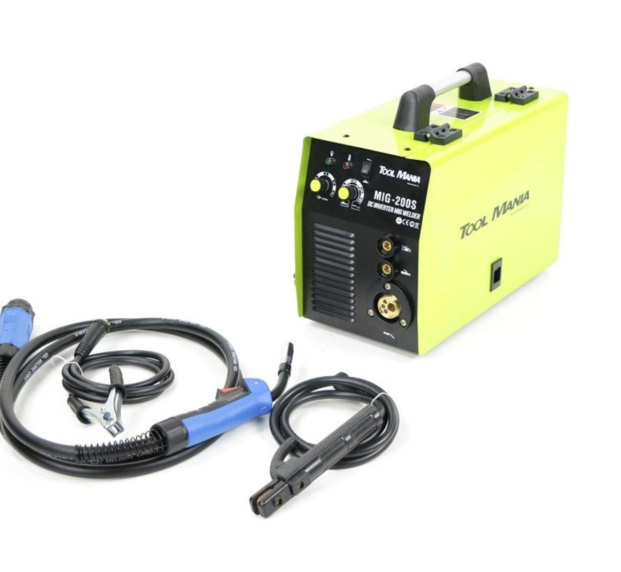 TM MIG - MAG 200S Welding machine with IGBT Technology