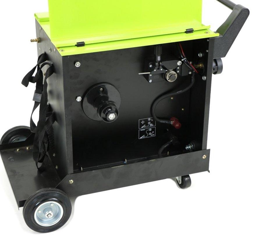 TM MIG 160Q Schweißgerät mit Digitalanzeige und IGBT-Technologie