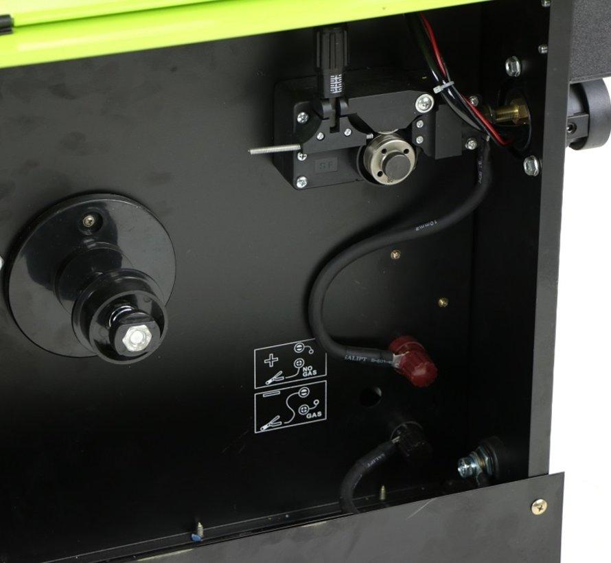 TM MIG 160Q Lasapparaat met Digitaal Display en IGBT Technologie