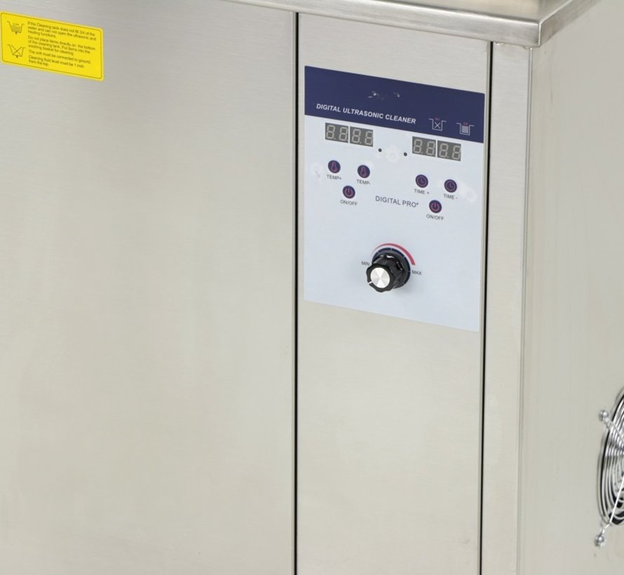 TM Digital Industrial 96 Liter Ultraschallreiniger