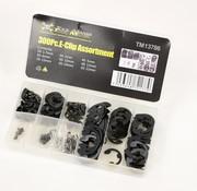 TM TM 300 Piece E-Clip Assortment