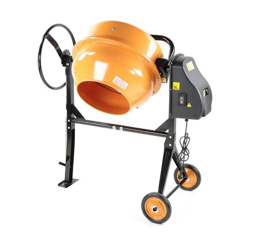 TM 160 Liter Concrete mixer, Concrete mixer with Foot control