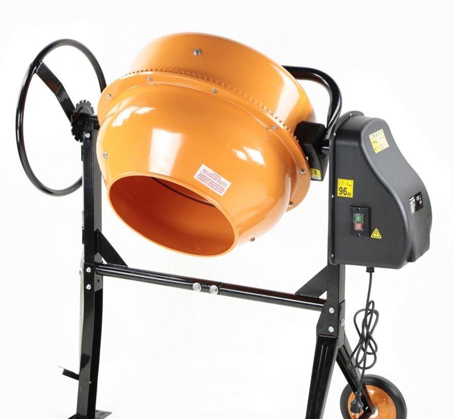 TM 160 Liter Betonmolen, Betonmixer met Voetbediening