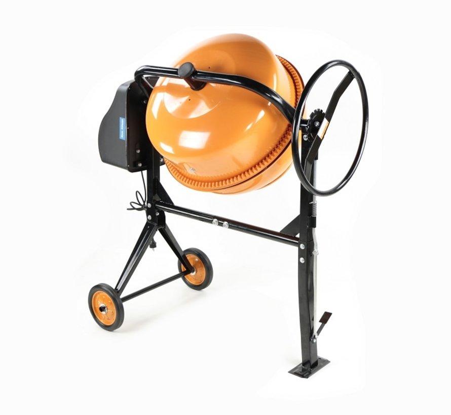 TM 160 Liter Betonmischer, Betonmischer mit Fußschalter