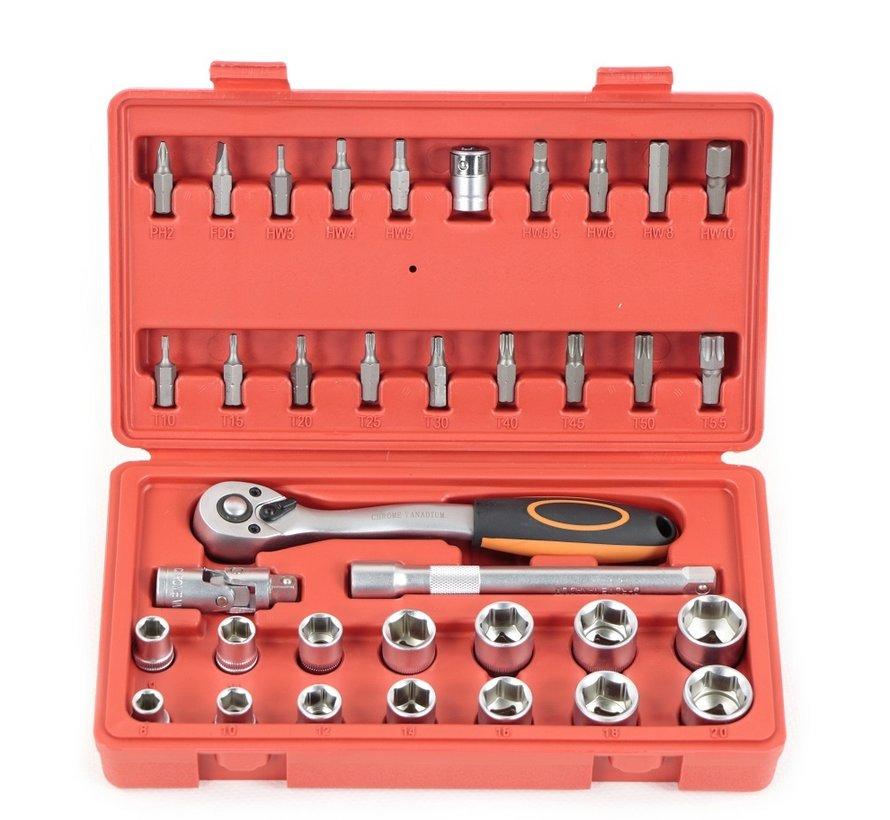 "TM 36 Stück 3/8 ""Professional Socket Set"