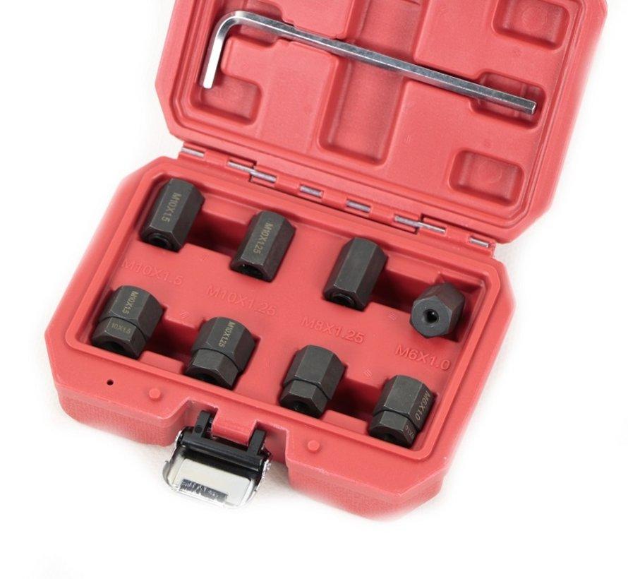 TM 9-teiliges Set zum Entfernen von Schrauben / Gewindeenden / Bolzen