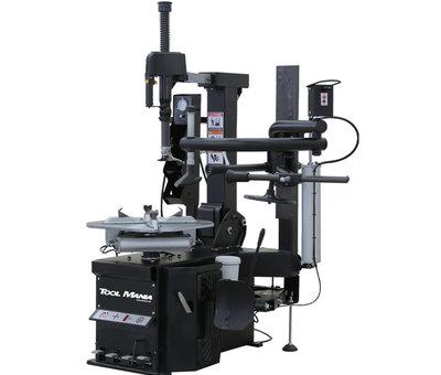TM TM HEAVY DUTY Profi Reifenentfernungsmaschine mit Hilfsarm - SCHWARZ