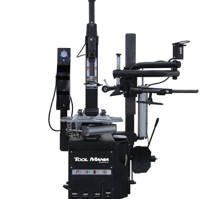 TM HEAVY DUTY Profi Reifenentfernungsmaschine mit Hilfsarm - SCHWARZ