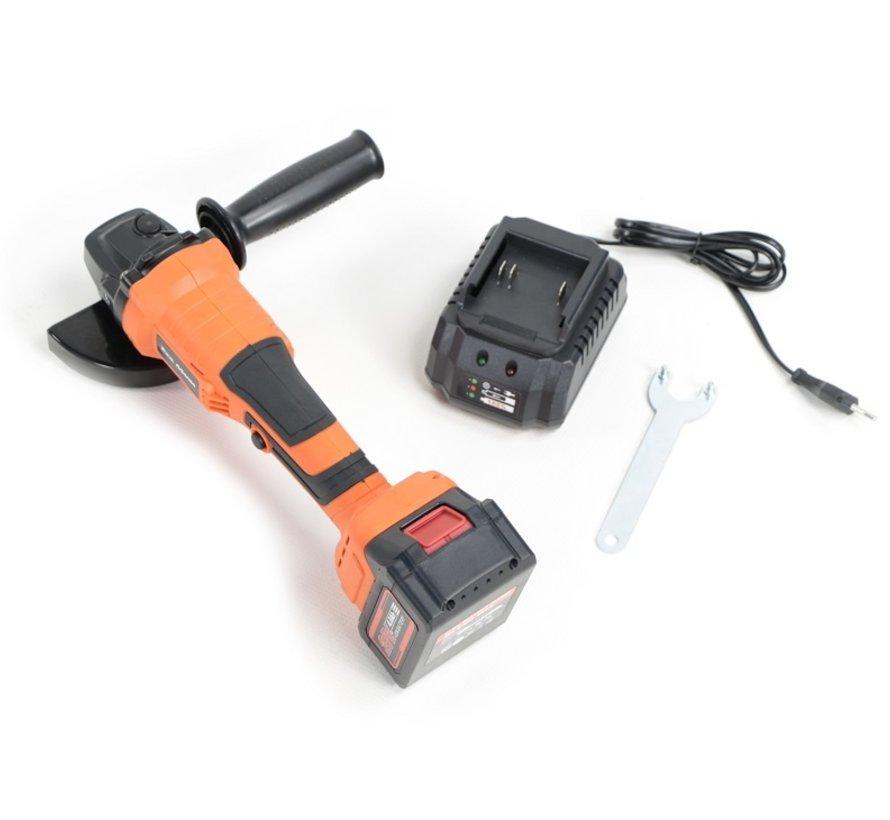 TM 21 Volt 4,0AH bürstenloser Li-Ionen-Batterie-Winkelschleifer, Schleifer, Polierer 115 mm