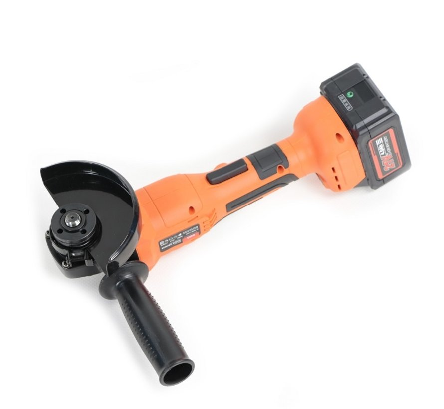 TM 21 Volt 4,0AH Li-ion Brushless Battery Angle Grinder, Grinder, Polisher 115 mm