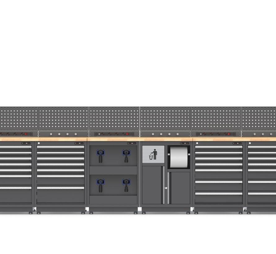 TM STAND ALONE Modulares Werkstattsystem 28 Teile