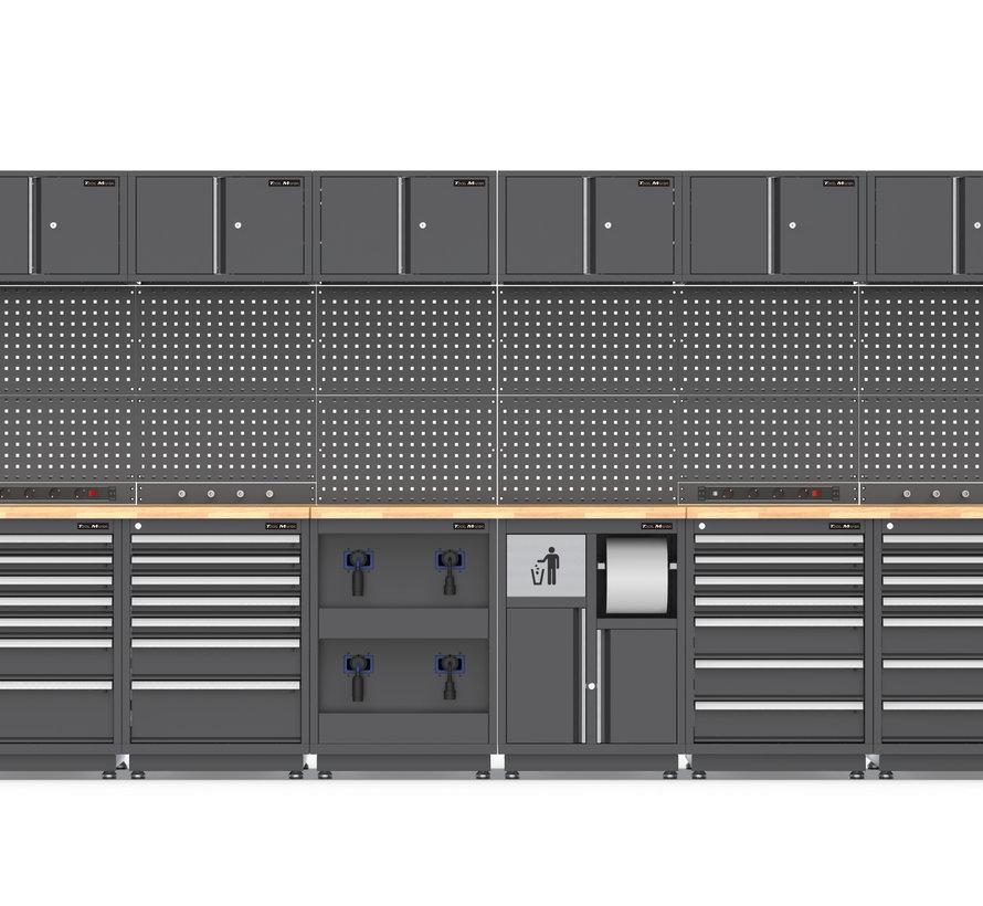 TM STAND ALONE Modulares Werkstattsystem 38 Stück