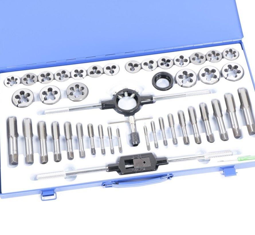 TM 45 Piece M6-24 Tap and Cutting Set Metric