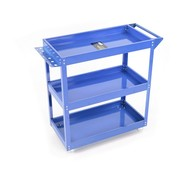 TM TM 3 Layer Universal Mobile Tool Trolley / Detailing Trolley - BLUE