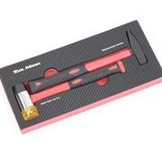 TM TM 2-teiliges Hammer Set Schaumstoff-Carbon-Look-Inlay