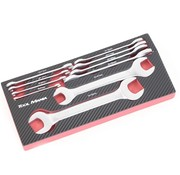 TM TM 10 Stück Double Open Ended Spanner Foam Carbon Look Inlay