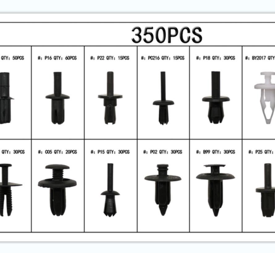 TM 350 Delige Assortiment bekleding clips voor BMW , BENZ , MAZDA , VW