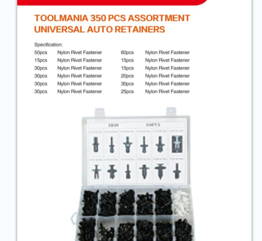 TM 350 Delige Assortiment Screw Rivits voor BMW  / BENZ / MAZDA / VW