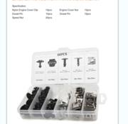 TM TM 60-teiliges Sortiment an Karosserieclips, Schrauben für VW , AUDIA