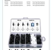 TM TM 100 Piece Assortment Screw Rivits / Clips MIX