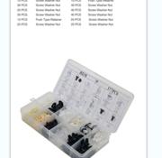 TM TM 377 Piece Assortment Screw Rivits, Clips for MITSUBISHI, FORD, NISSAN, VW