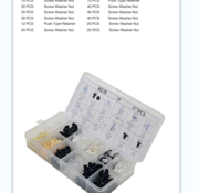 TM TM 377-teiliges Sortiment Polsterklammern für MITSUBISHI, FORD, NISSAN, VW