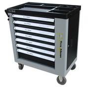TM TM 262 Stück gefüllter Werkzeugwagen mit 7 Schubladen und Tür mit Schaumstoffeinlagen