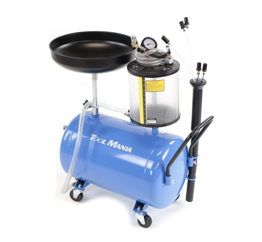 TM Oil Collection System / Oil Extractor , Horizontal , Extra Low - BLAU