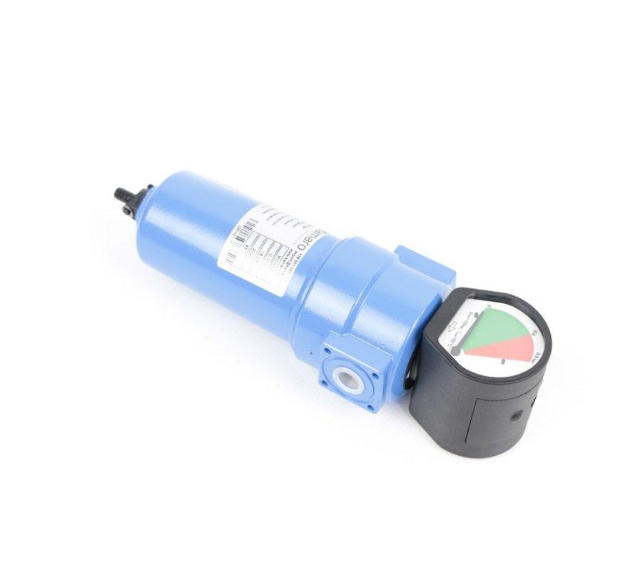 TM Koolstoffilter, Persluchtfilter 1000 l/min 16 bar ISO