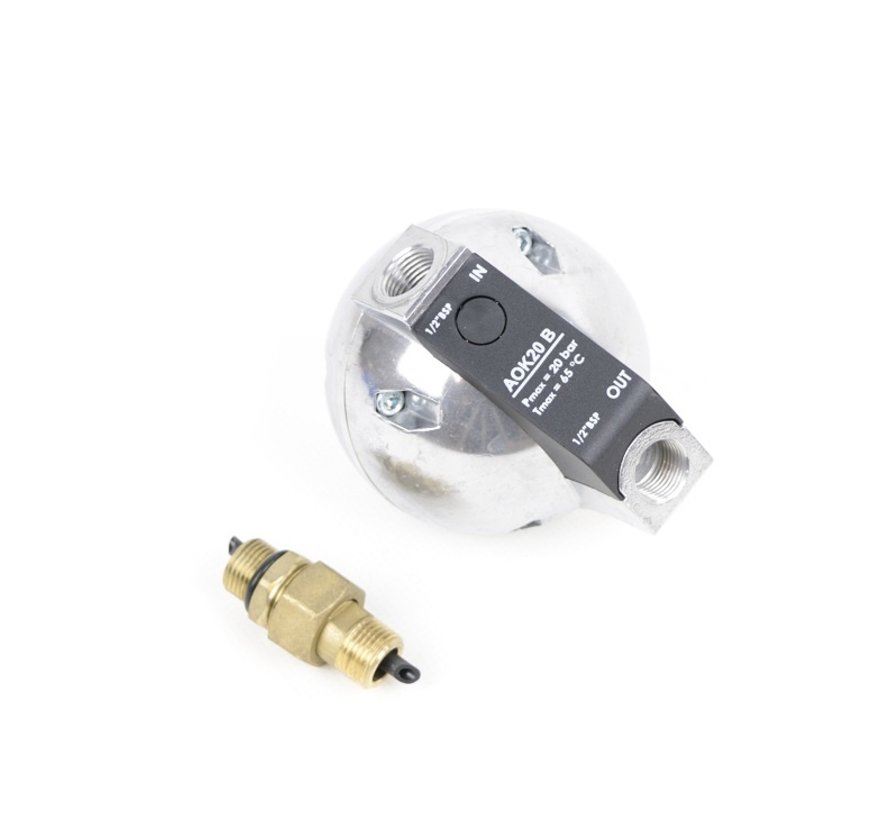 TM Automatische Niveaugestuurde condensaftap