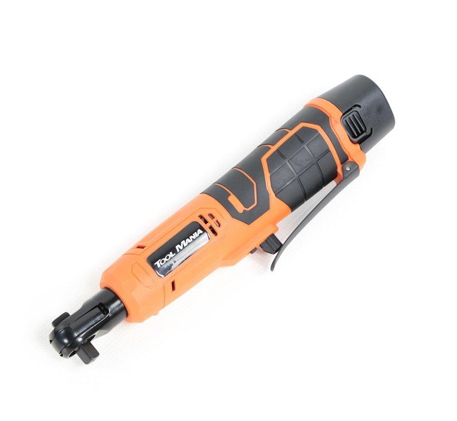 "OUTLET TM 1/4"" Battery Ratchet Wrench 12 Volt 1,5 AH Li-ion - 55 Nm"