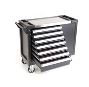 TM TM 274 Piece XL Premium Filled tool trolley With Door and Carbon Inlays