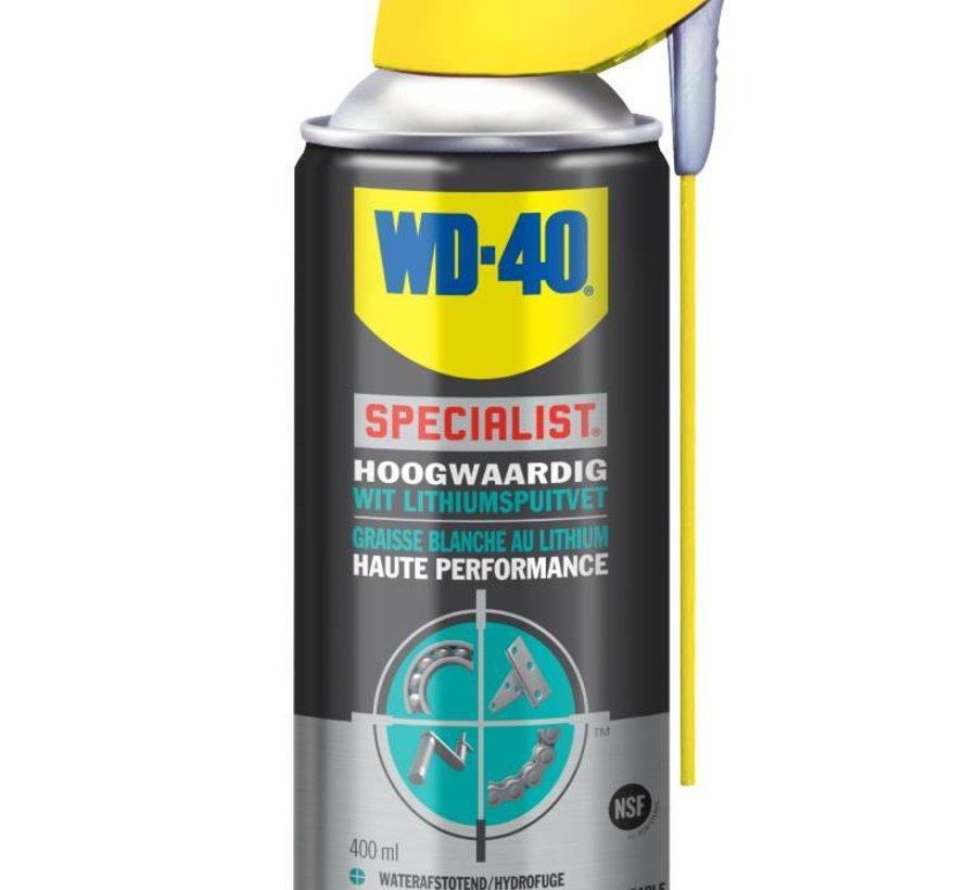 Specialist Wit Lithium Spuitvet 400ml