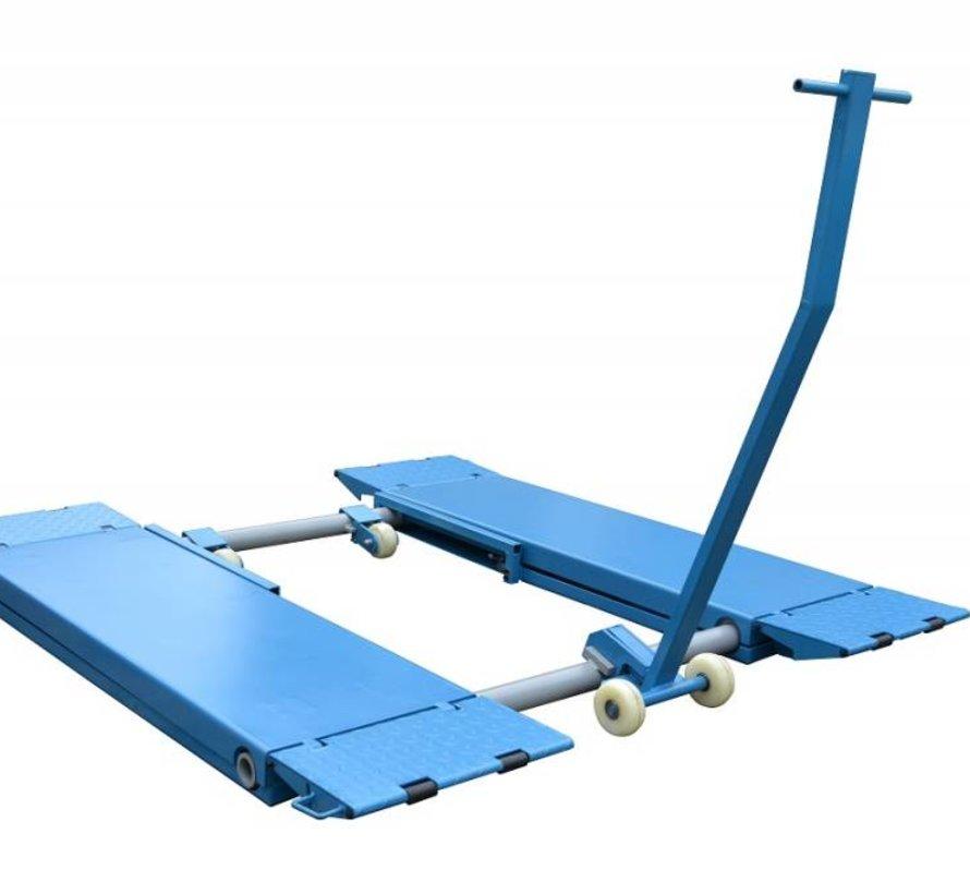 Mobiele wiel kit voor de poetshefbrug