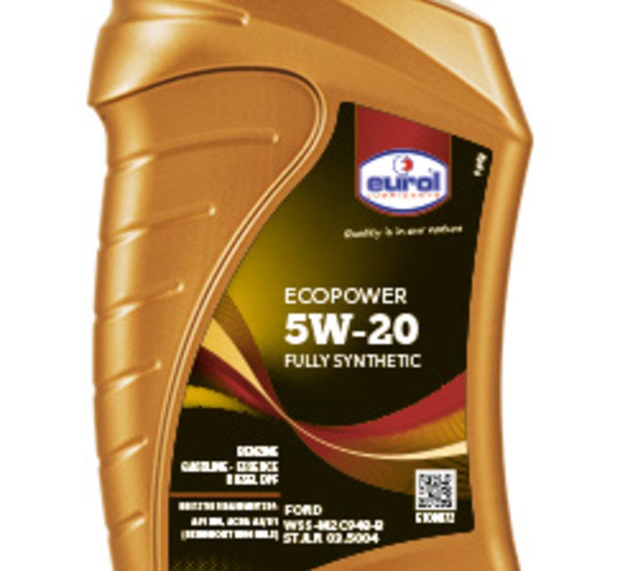 EUROL ECOPOWER 5W-20 1 liter