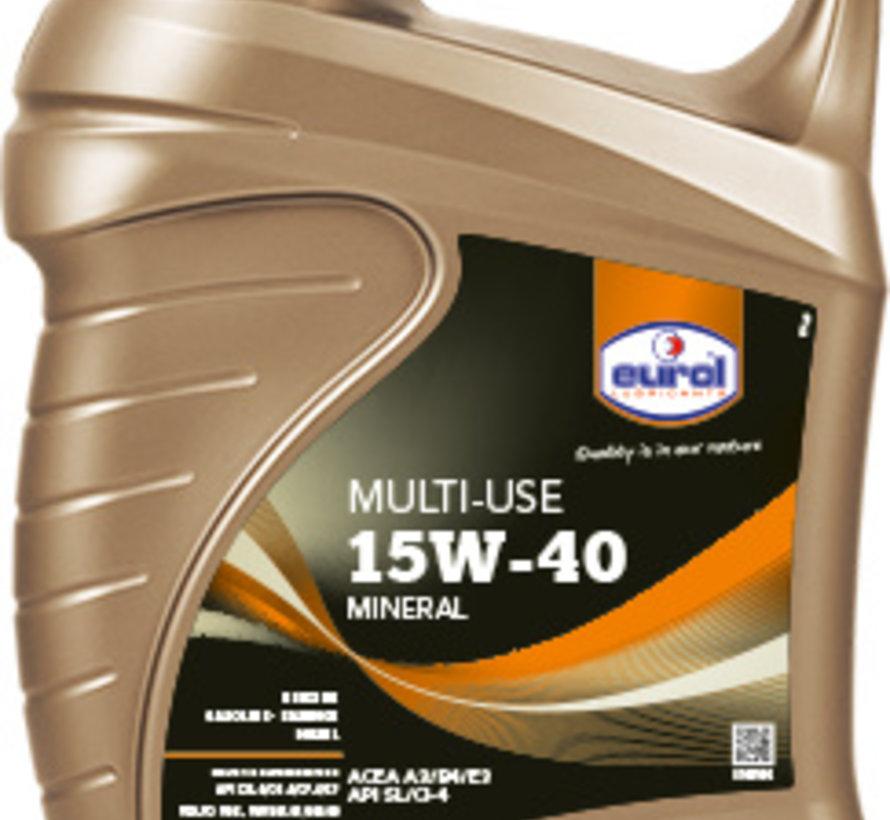 EUROL MULTI-USE 15W-40 5 liter