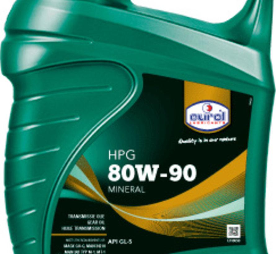 EUROL HPG SAE 80W-90 GL5 5 liter