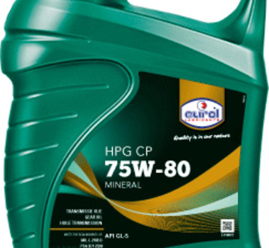 EUROL HPG 75W-80 GL 5 CP 5 liter