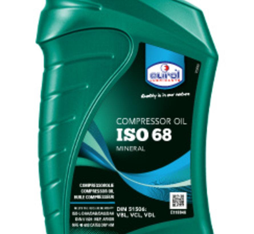 EUROL COMPRESSOR OIL 68 1 liter