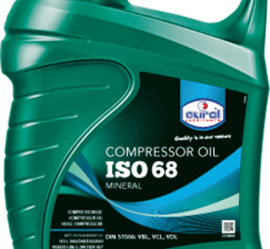EUROL COMPRESSOR OIL 68 5 liter
