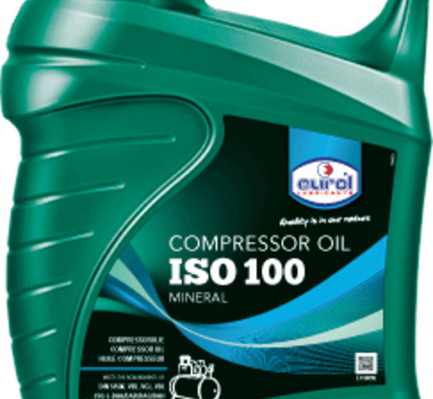 EUROL COMPRESSOR OIL 100 5 liter