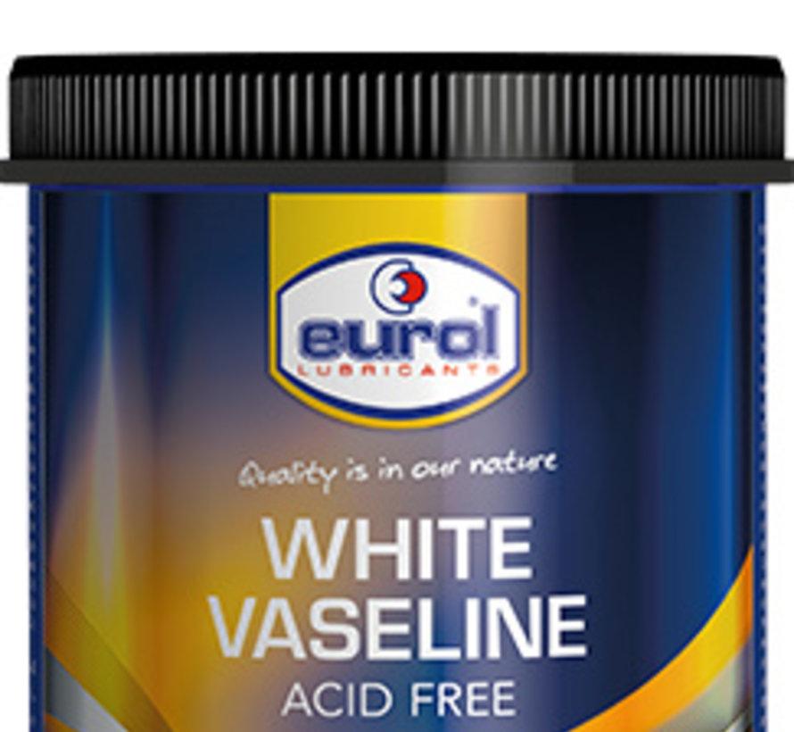 EUROL WITTE VASELINE ZUURVRIJ 600 gram