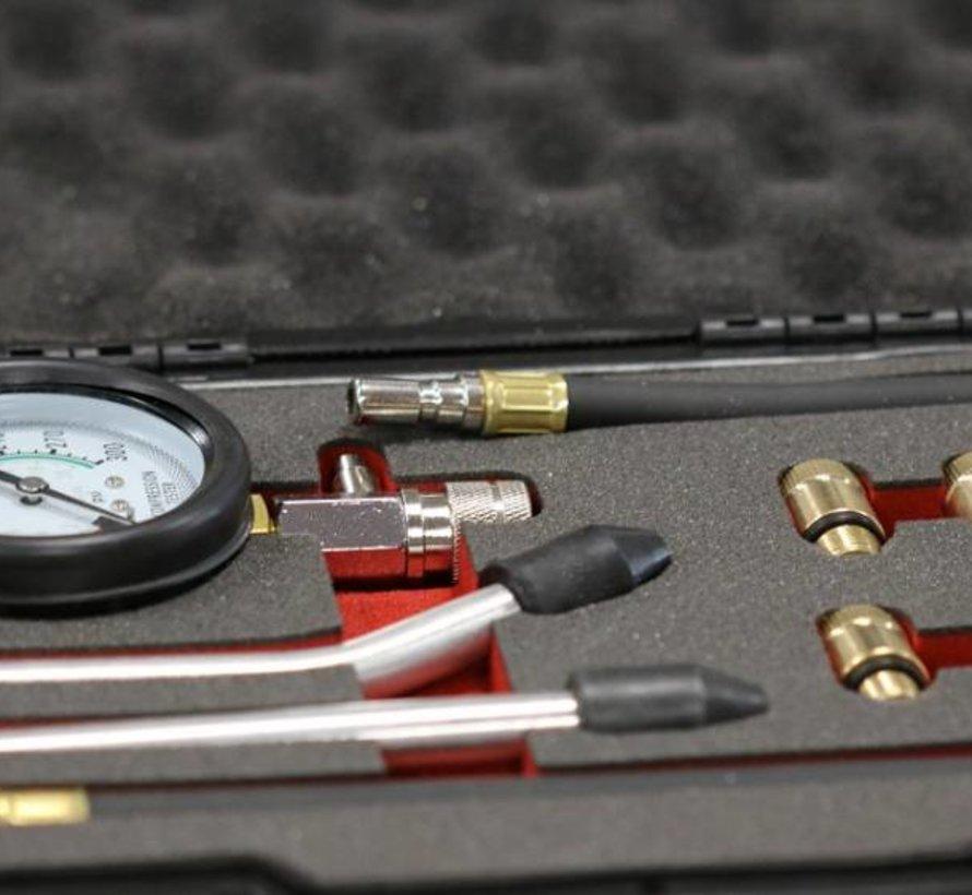 Professioneller 8-teiliger Kompressionsprüfer für Benzinmotoren